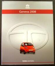 2008 Tata Motors Geneva Auto Show Press Kit Nano Indica Safari DICOR 2.2 Xenon
