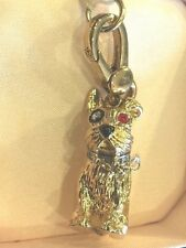 NIB Juicy Couture GOLD TONE Doggie Charm