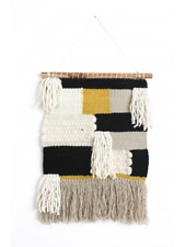 HAND WOVEN WOOL AND COTTON WALL HANGING Ysabel Wall Hanging