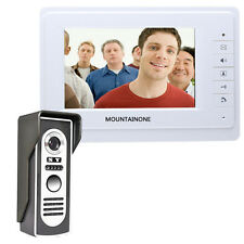 "SY819M11 7"" HD Doorbell Camera Video Intercom Door Phone System IUS"