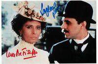 Sophia Loren Luca De Filippo Autograph Hand Signed Photo Authentic Coa Autografo