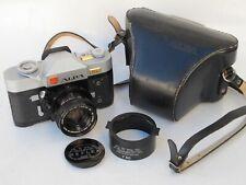 RARE Alpa 11Si 50mm f:1.9 Kern Macro Switar lens cap hood shade/case, NICE LQQK
