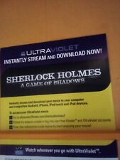 Sherlock Holmes: A Game of Shadows (2011) Robert Downey Jr please read!!!