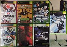Lot of seven (7) Original Xbox Games