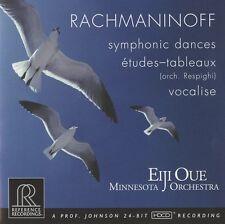 Eiji Oue, S. Rachman - Symphonic Dances / Etudes-Tableaux [New CD]