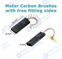 BOSCH Motor Carbon Brushes WAE28363GB/06 WAE28390NL/01 WAE28390NL/10 WAE28391/10