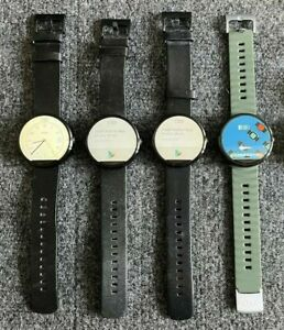 Lot of 4 Moto 360 Smartwatch (1st generation) !!!!FOR PARTS ONLY!!!!