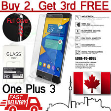 Premium 3D Full Cover Tempered Glass Screen Protector for OnePlus 3/OnePlus 3T
