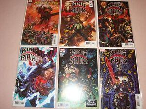 King In Black Lot of 6 Marvel Venom Comics (2021)