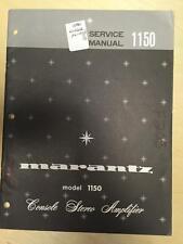 Marantz Service-Handbuch für die 1150 Verstärker Amp MP