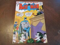 BATMAN #163 May 1964 JOKER JURY COVER/STORY BATGIRL-BATWOMAN II MID GRADE!!