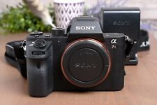 Sony Alpha a7R II 42.4MP Digital Camera - Black (Body Only) w/Batteries &Charger