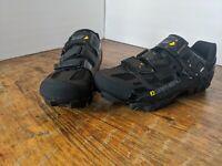 Louis Garneau Women's Mica Mountain bike Shoe - Black - Size 41 ( US 9.5 )