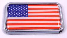 USA Spain split style Flag Car Chrome Emblem Decal 3D Sticker Spanish American