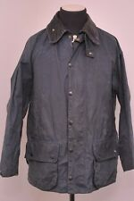"BARBOUR BEAUFORT A155 Cera Cotone Country Giacca Blu 44""/112CM EU58"