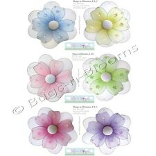 FLOWER STICKERS Wall Mural Girl Room Decor Removable Vinyl Decals Flowers Daisy