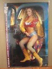 vintage Nicole wood 1993  poster Hot Girl Playboy 2541