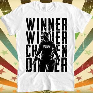 Winner Winner Chicken Dinner Pubg Cool Ideal Gift Unisex Retro T Shirt 2411