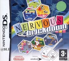 Nintendo DS + Original Software + NERVOUS BRICKDOWN + Arcade Klassiker + TOP +