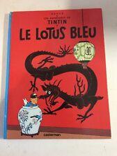Les aventures de Tintin Le lotus bleu