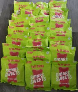 24 SMART SWEETS Sour Gummy Bears, 1.8 OZ each gluten free Non-gmo Natural 4g sug