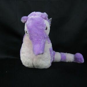 "Fiesta Toy Lavender Seahorse Plush 19"" Stuffed Marine Ocean Sea Purple Pink"