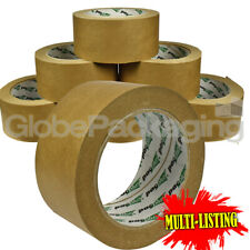 More details for strong brown kraft paper packing tape 50mm x 50m biodegradable & eco-friedly