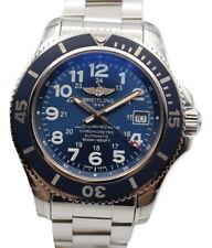 Breitling Superocean II 42 Blue 500m Men's Watch A17365D1/C915