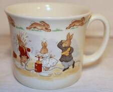 ROYAL DOULTON BUNNYKINS 1936 TEA COFFEE CUP MUG WATER PUMP