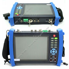 "IPC-8600MOVT 7"" TFT-LCD Touch HD IP CAMERA DISPLAY TDR PTZ POE TESTER DC Output"