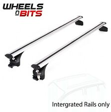 Integrated Railing Roof Rack 120cm Areo Dynamic Aluminium Bar To Fit Land Rover