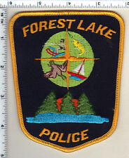 Forest Lake Police (Minnesota)  Shoulder Patch  - new from the 1980's
