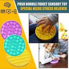 Push Pop Pop Bubble Sensory Fidget Toy Autism Special Needs Silent Classroom UK