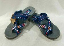 Skechers Women's Reggae Zig Sway Navy/Multicolor Sandals - Size 6 # 48228