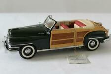 FRANKLIN MINT Precision Models 1948 CHRYSLER TOWN & COUNTRY 1:24 Diecast w/ BOX