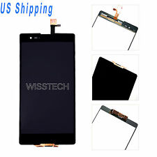 LCD Touch Screen Digitizer Assembly For Sony Xperia T2 Ultra D5303 D5306 Black