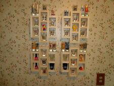 Shot Glass Shooter Display Case 40 Shelf 4pc Wall Organizer Ready To Finish Wood