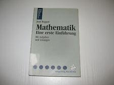 Mathematik von Josef Roppert (1992, Taschenbuch)