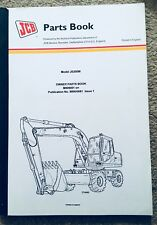 JCB Excavator Spare Parts Manual For JS200W Wheeled  - New