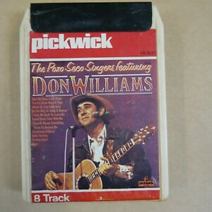8 track cartridge THE POZO SECO SINGERS & DON WILLIAMS ,  NOT SERVICED
