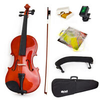 4/4 Violin Full Size Acoustic Fiddle with Outfit Kit for Starters Beginnners Kid