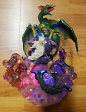 New Mythical Legends Statue Magic Color Changing Light Gothic Dragons Fantasy