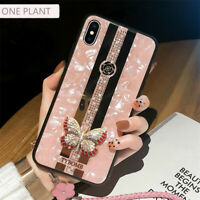 Luxury Bling Glitter Case Butterfly Phone Cover for iPhone 11 Pro Max 7 8 Plus X
