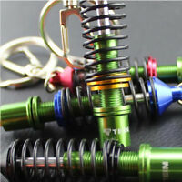 Novelty Auto Parts Key Chains Ring Creative Adjustable Suspension Car Keyring