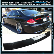 02-08 BMW E65 E66 7-Series Roof Spoiler OEM Painted Color # 475 Black Sapphire(Fits: BMW)