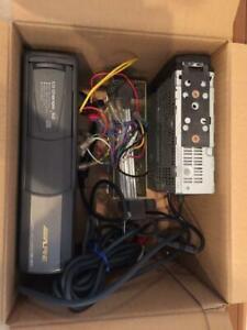F/S Alpine Vintage alpine car stereo MDM-7760J MD + CD + changer
