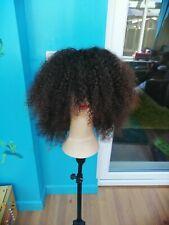 Brazilian ombre Afro kinky human hair wig