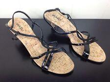 Vaneli Heels Sandals Cork Size 11 M