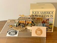 Lowell Davis By Schmid Nels Diner Route 66 Collection 1935/2500 W/ Box & Cert