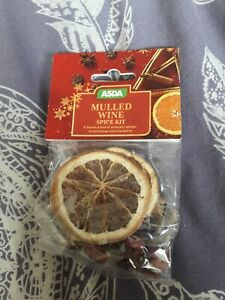 Asda Mulled Wine Spice Kit..1 of...HOME BAKING